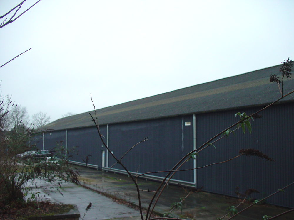 Existing asbestos cement roof
