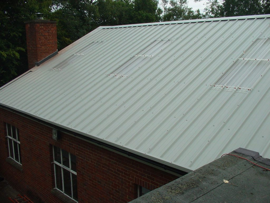 Factory assembled insulated rooflights