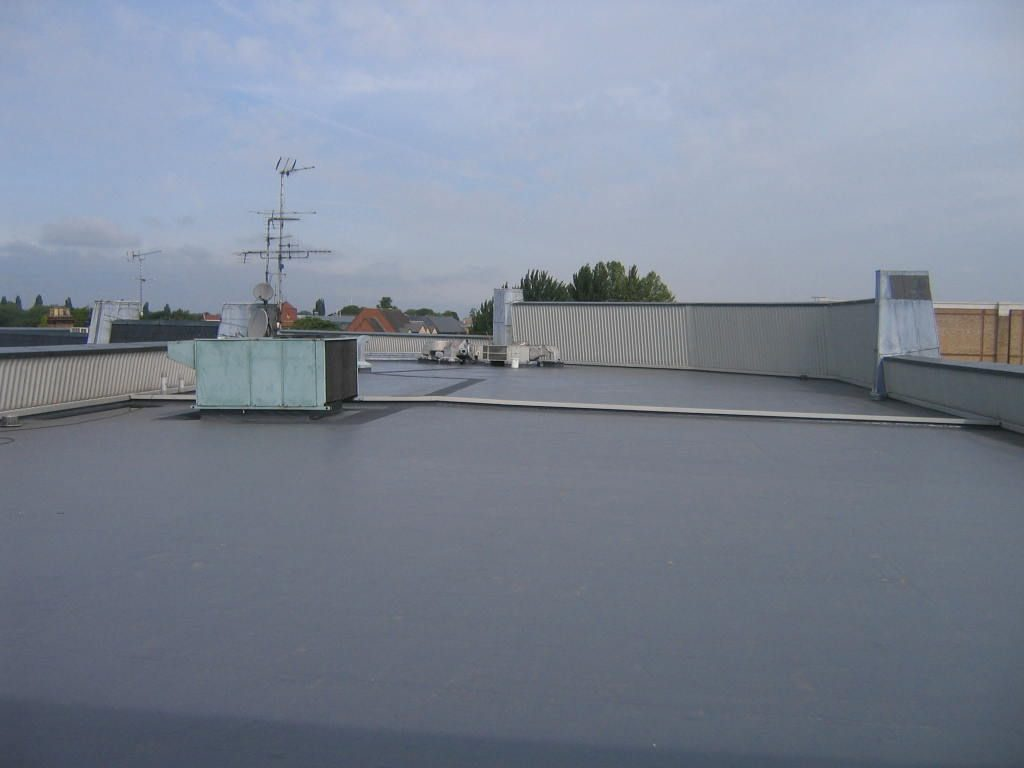 Overview of new liquid treated roof