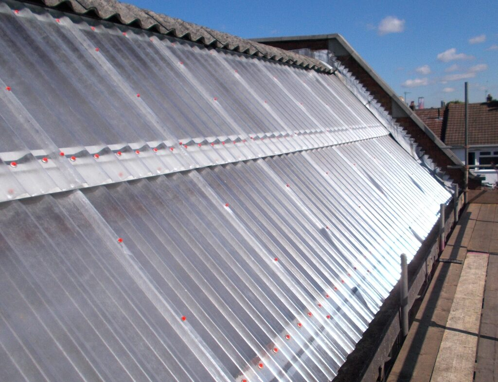 London Bus Company After A New Roof Was Fitted